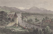 View of Thun - Canton of Berne (Switzerland)
