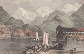 View of Interlaken - Canton of Berne (Switzerland)