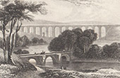 Pont-Y-Casullte - Aquädukt - Llangollen - Denbighshire - Wales (Vereinigtes Königreich)