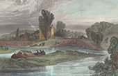 Shepperton Lock - Lock - Thames - Surrey (England - Great Britain - United Kingdom)