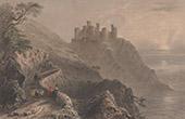 Schloss von Harlech - Gwynedd - Wales (Vereinigtes K�nigreich)