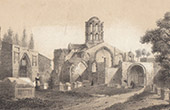Kapelle Notre-Dame-de-Gr�ce - Les Alyscans - Saint-Honorat des Alyscamps - Arles - Bouches-du-Rhone (Frankreich)