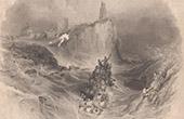 Tynemouth Priory - Ruine - Tyne and Wear (England - Gro�britannien - Vereinigtes K�nigreich)