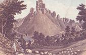 Corfe Castle - Ruins - Dorset (England - Great Britain - United Kingdom)