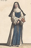 Religiöse Kleidung und Tracht - Ordre de l'Annonciation Céleste