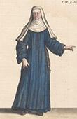 Religi�se Kleidung und Tracht - Ordre de l'Annonciation C�leste