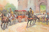History of the Automobile - Middle Ages - Medieval - Chariot