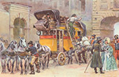 History of the Automobile - XIXth Century - Stagecoach