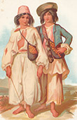 Traditional Costume - Romanies Children (Austria)