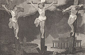 Crucifixion of Jesus - Christ on the Cross between two Thieves - The Last Seven Words of Christ