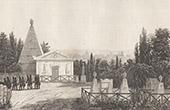 Ansicht von P�re Lachaise Friedhof in Paris (Frankreich)