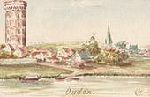 Vy �ver Oudon - Pays de la Loire - Loire-Atlantique (Frankrike)