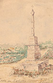 Croix des Rochettes - Calv�rio - Saint-Servant - Morbihan (Fran�a)
