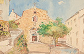 Landscape - Church - Village