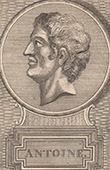 Portrait of Mark Antony - Marcus Antonius (1st Century BC)