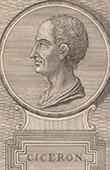 Porträt von Cicero (1. Jahrhundert v. Chr.)