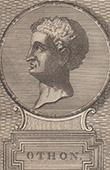 Portr�t von Otho - R�mische Kaiserzeit (1. Jahrhundert)