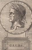 Portrait of Galba - Roman Emperor (1st century)