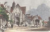 Church of Sainte-Catherine-de Fierbois - Central France - Indre-et-Loire (France)