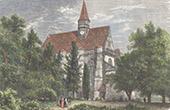 Sainte-Chapelle of Champigny-sur-Veude - Indre-et-Loire (France)