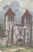 Saint-Mexme Church of Chinon - Indre-et-Loire (France)