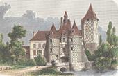 Château des Réaux near of Chouzé-sur-Loire - Indre-et-Loire (France)