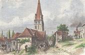 Steeple of Langeais - Indre-et-Loire (France)