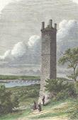Pile de Cinq-Mars - Funerary Gallo-Roman tower - Cinq-Mars-la-Pile - Indre-et-Loire (France)