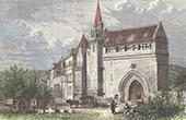 Marmoutier Abbey - Portal - Indre-et-Loire (France)