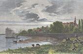 View of Montlouis-sur-Loire - Indre-et-Loire (France)