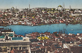 View of Constantinople - Istanbul - Bosphorus - Bosporus - Golden Horn (Turkey)