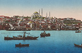 View of Constantinople - Istanbul - Bosphorus - Bosporus (Turkey)