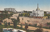 View of Constantinople - Istanbul - Yıldız Hamidiye Mosque (Turkey)