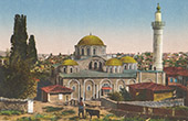 View of Constantinople - Istanbul - Church of the Holy Saviour in Chora - Mosque Kariye (Turkey)