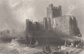Carrickfergus Castle - County Antrim - Belfast Lough (Ireland)