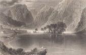 View of Gougane Barra - Lake - County Cork (Ireland)
