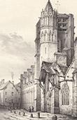 Kirche von Saint-Bris-le-Vineux - Yonne (Frankreich)