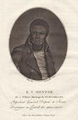 Porträt von Etienne Victor Mentor im Jahre 1771 geboren