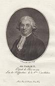 Porträt von Guy-Jean-Baptiste Target (1733-1806)