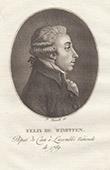 Porträt von Félix de Wimpffen (1745-1814)