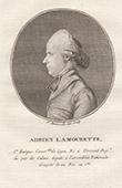 Porträt von Antoine-Adrien Lamourette (1742-1794)