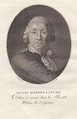 Porträt von Henri Masers de Latude (1725-1805)