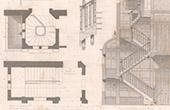 Drawing of Architect - Les Mureaux - House - Maison d'Habitation (J. Saulnier)