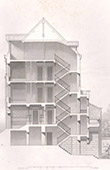 Architect's Drawing - Angoul�me - House (M. Abadie)