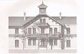 Dessin d'Architecte - Ecurie de Course - Chamant - Oise (Just Lisch Architecte)