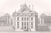Architect's Drawing - Ormesson-sur-Marne - Castle of Ormesson