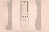 Architect's Drawing - Vern�gues  - Roman Temple of Ch�teau-Bas