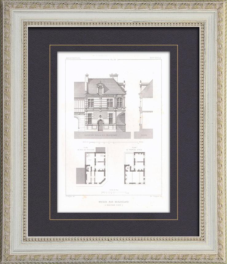gravures anciennes gravures de 17 me si cle. Black Bedroom Furniture Sets. Home Design Ideas