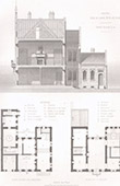 Architect's Drawing - Masny - Nord - House (P. Boeswillwald)