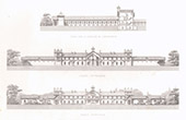 Architect's Drawing - Stable - Horse Race - Chamant - Oise (Just Lisch)